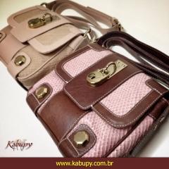 Bolsas femininas de couro = www.kabupy.com.br