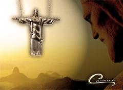 Colar cristo redentor joias carmine