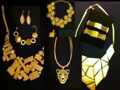 Bio-jóias com palha de buriti banhadas a ouro limitadas!!!