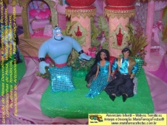 Tema Princesas - Peças ineditas para a sua proxima decoração temática