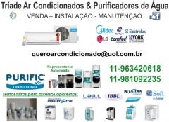 Tríade ar condicionados e purificadores de água