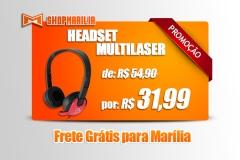 Headset Multilaser