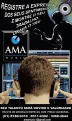 Foto 8 imagen, som e vídeo no Distrito Federal - Ama Music – Estúdio de Gravação Produções Artísticas e Soluções em áudio.