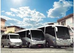 Locação de vans, micros e Ônibus