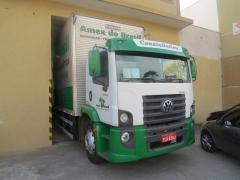 Caminhão amex do brasil mudanças e transportes