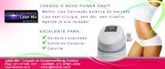 Power Cavit - A Melhor tecnologia de ponta para emagrecimento, contorno corporal, redução de medidas do mercado. Só na Laser Mix Locação de Equipamentos de Estética no Rio de Janeiro e Grande Rio, www.lasermix.net.br / (21) 97981-0008