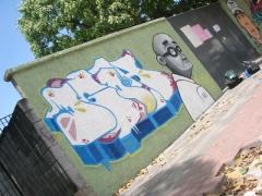 Oitodois - escritor de graffiti