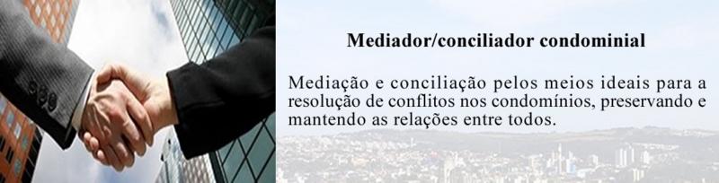 Mediador - Conciliador - Mediador Condominial - Conciliador Condominial