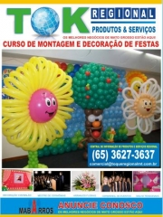 Cursos de montagem e decoração de festas infantis