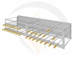 - churrasqueira rotativa sob medida - produto em inox 304 - regulagem de velocidade dos espetos - voltagem 110/220 volts - garantia total de 12 meses - foto ilustrativa