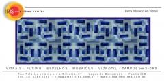 Técnica em mosaico vidrotil - residencial 5