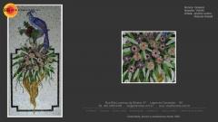 T�cnica em mosaico vidrotil
