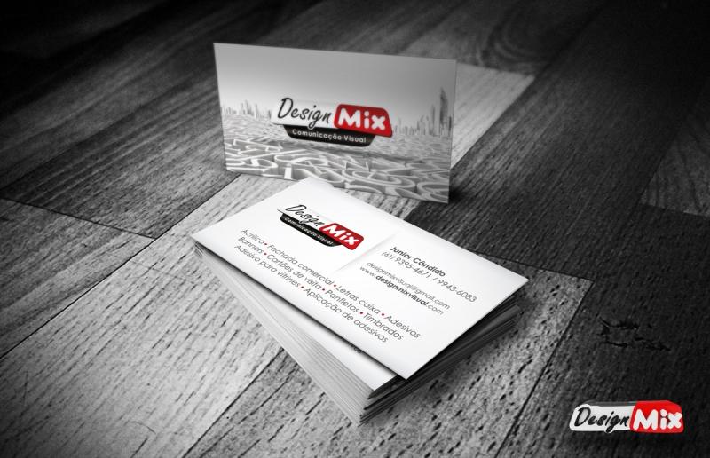 Cartão de Visita Design Mix