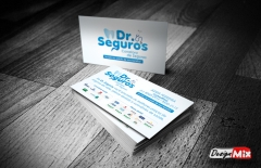 Cartão de visita dr. seguros
