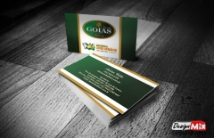 Cartão de visita fazendas goiás