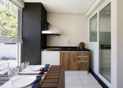 Churrasqueira de apartamento, churrasqueira de varanda projeto elizabeth braido & alessandra ceceli... churrasqueira bella telha.. fale conosco!!!