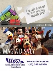 Disney - temporada de férias - vijac turismo