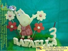 Velinha tem�tica personalizada, para decorar a sua festa de anivers�rio infantil.
