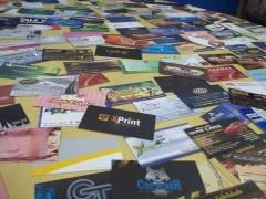 Cartões de visita diversos ( fosco, verniz localizado, verniz total...) confira!