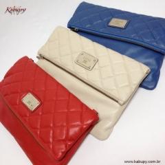 Bolsas femininas kabupy - clutches de couro kabupy