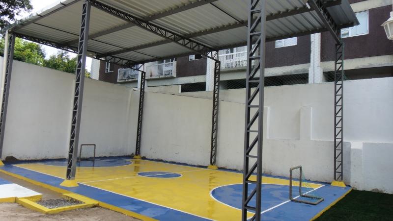 Quadra Coberta - ONG - Boa Vista