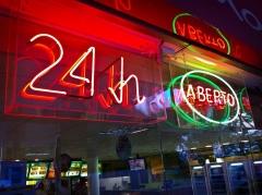 aberto neon 24hs