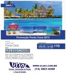 Promoção punta cana 2015 - vijac