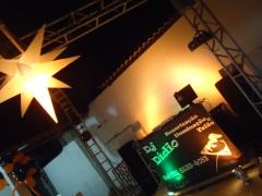 Dj dídio som, luz , telão, iluminação para decoração, máquina de bolhas criação de  vídeos recordações animados. - foto 9