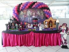 Festa da monster high da bela festa decorações
