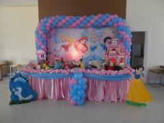 Festa das princesas da bela festa decorações.