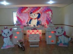Festa da marie em provençal, da bela festa decorações.