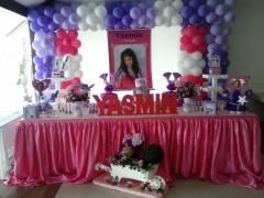 Decoração violetta - festa temática para meninas acima de 7 anos. confira os detalhes que a mariafumaçafestas reservou para fazer a decoração da sua festa...