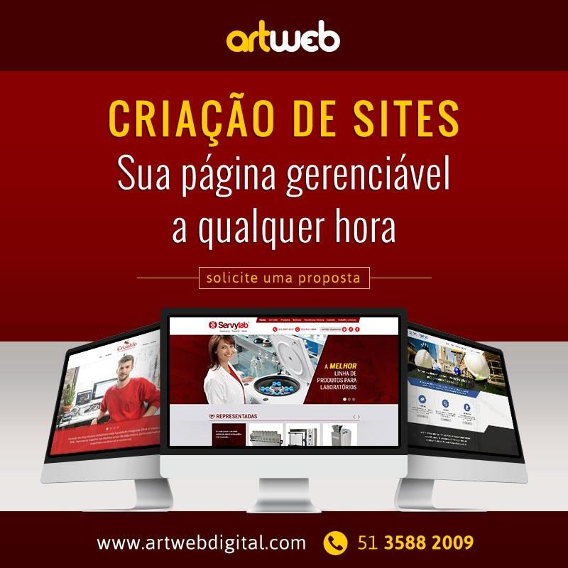 Criação de Sites Gerenciáveis