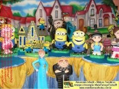 Tema meu malvado favorito - lançamento mariafumaçafestas em setembro/2014 - quer saber mais, acesse nos nossos portais: www.mariafumacafestas.com.br / www.temasinfantis.com.br  / www.multidicas.com.br  - se preferir, fale conosco por telefone: (61)3563-6663 / (61)8406-2422