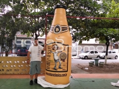 Réplica de garrafa de cerveja 3m - balÕes promo infláveis promocionais