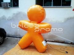 Mascote vivo - balÕes promo infláveis promocionais