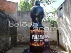 Réplica garrafa vulcano - balÕes promo infláveis promocionais