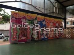 Réplicas sacos de ração imbramil 4m de altura - balÕes promo infláveis promocionais