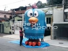 Galinha pintadinha inflável 3d 5m de altura - balÕes promo infláveis promocionais