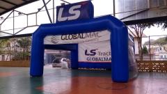 Tenda inflável modelo especial  - balÕes promo infláveis promocionais