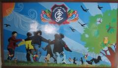 Painel de entrada do Infantil.