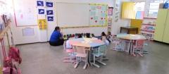 Sala de aula do infantil.