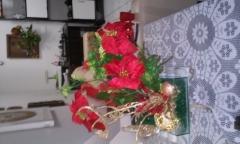 arranjo natalino para centro de mesa