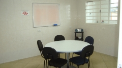 Uma de nossas salas de aula.
