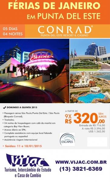 Ferias de Janeiro - Vijac e Flytour