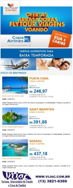 EUA E Caribe - Vijac e Flytour
