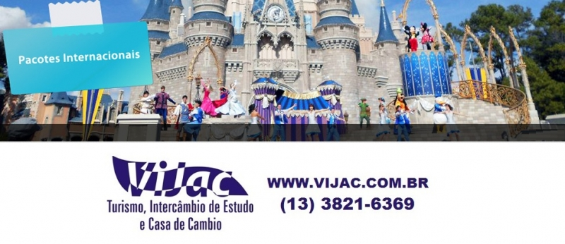 Pacotes Internacionais - Vijac