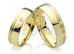 Wm jóias alianças