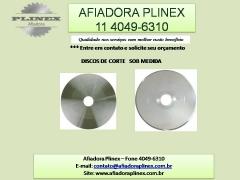 AFIAÇÃO DE DISCOS - AFIADORA PLINEX 11 4049-6310