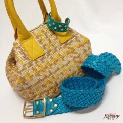 Bolsas artesanais kabupy - bolsas de couro kabupy